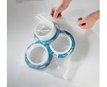 EASY CLOSE ZIP LOCK BAGS